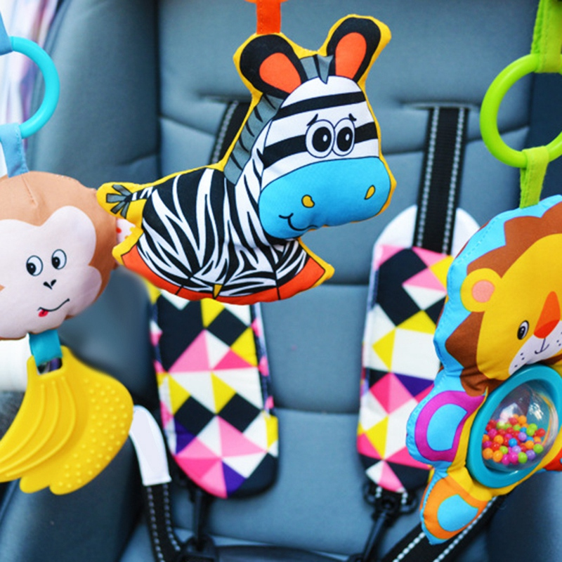 Baby-Stroller-Bed-Crib-Hanging-Toys-For-Tots-Cots-Rattles-Seat-Cute-Plush-S-M3B6 thumbnail 5