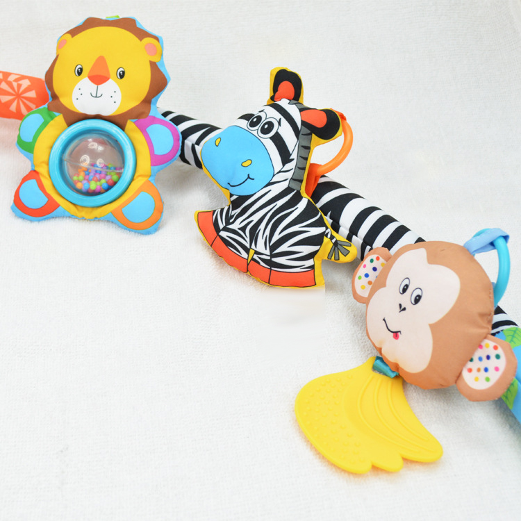 Baby-Stroller-Bed-Crib-Hanging-Toys-For-Tots-Cots-Rattles-Seat-Cute-Plush-S-M3B6 thumbnail 8