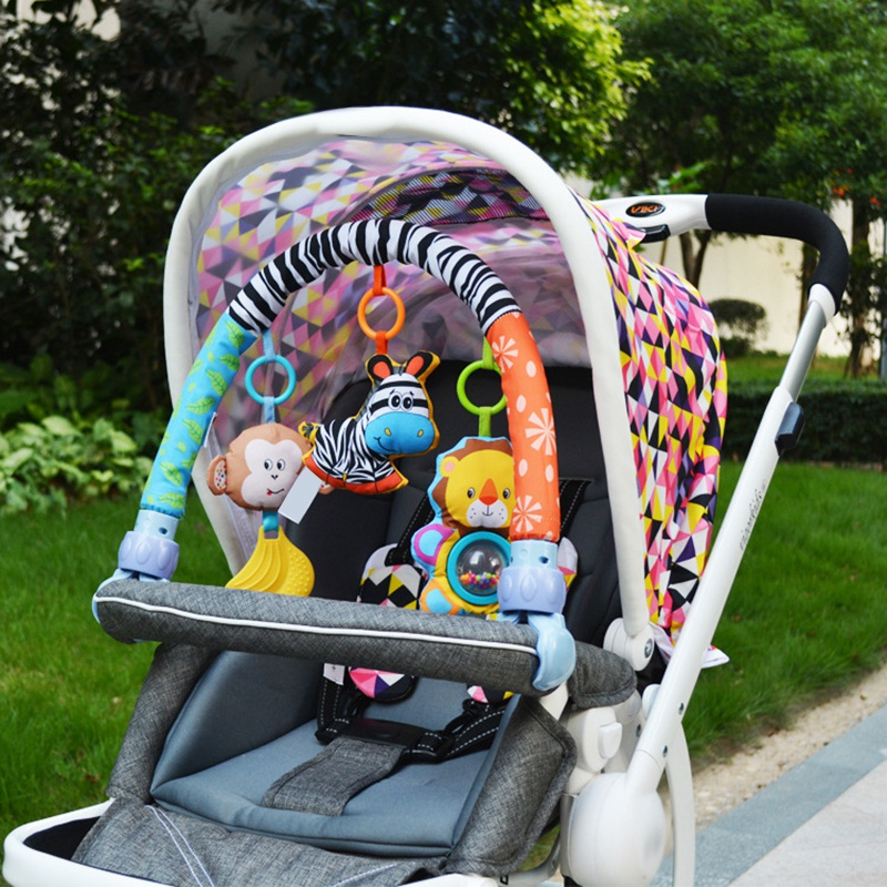 Baby-Stroller-Bed-Crib-Hanging-Toys-For-Tots-Cots-Rattles-Seat-Cute-Plush-S-M3B6 thumbnail 12