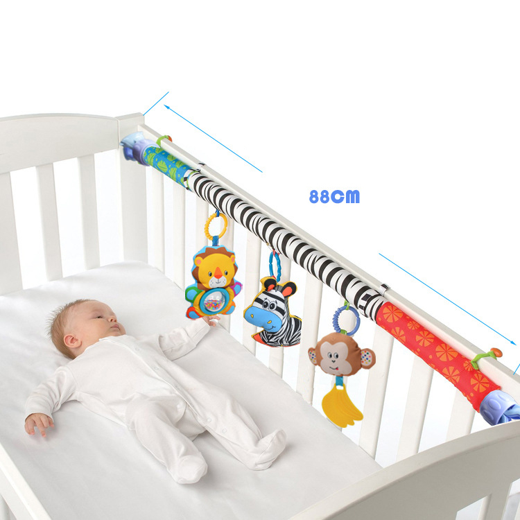 Baby-Stroller-Bed-Crib-Hanging-Toys-For-Tots-Cots-Rattles-Seat-Cute-Plush-S-M3B6 thumbnail 14