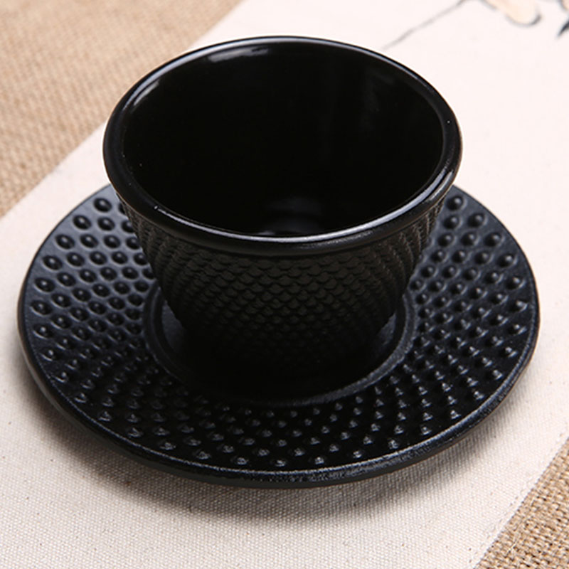 Cast-Iron-Tea-Cups-Drinkware-Chinese-Handmade-Kung-Fu-Coffee-Tools-Health-Care-P thumbnail 4