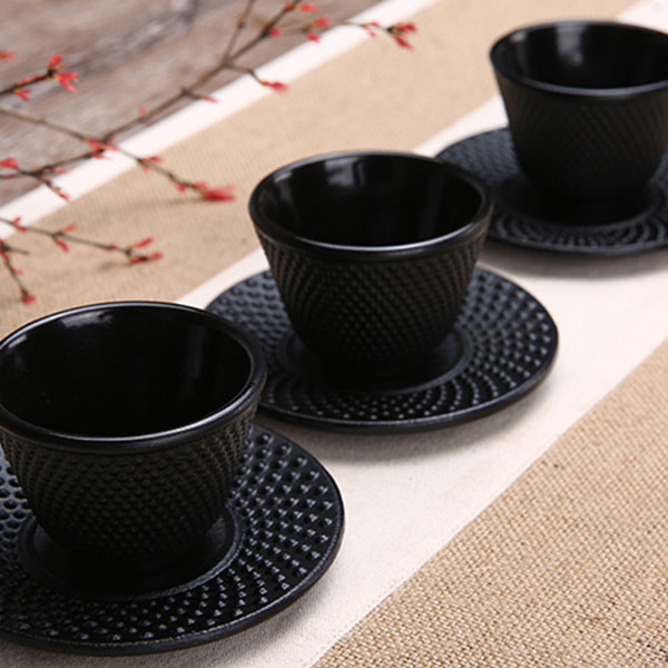 Cast-Iron-Tea-Cups-Drinkware-Chinese-Handmade-Kung-Fu-Coffee-Tools-Health-Care-P thumbnail 6