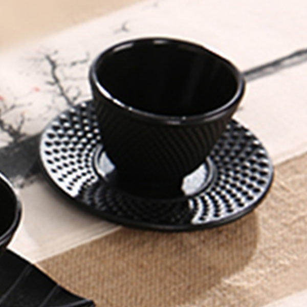 Cast-Iron-Tea-Cups-Drinkware-Chinese-Handmade-Kung-Fu-Coffee-Tools-Health-Care-P thumbnail 7
