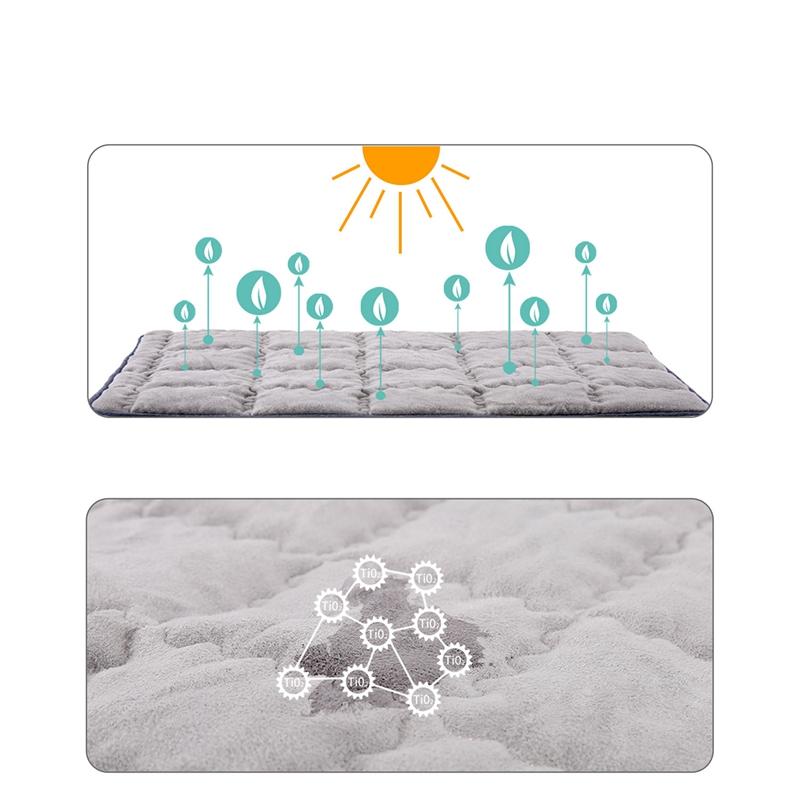 Indexbild 7 - 1X(Haustier Geruchs entferner Matte Komfortable weiche Kisten auflage Rutsc U5Y5