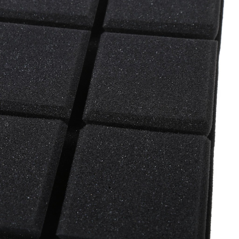 30x30x5cm-Schalldaempfender-Schwamm-Akustik-Schalldaemmung-Ton-Stop-Absorptio-A3Z4 Indexbild 4