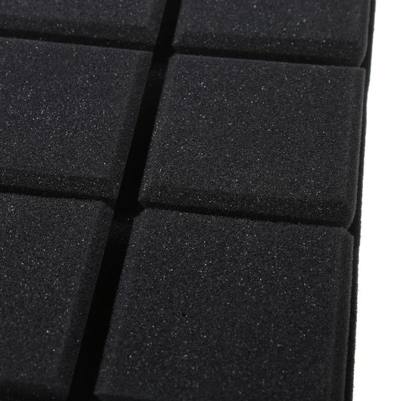 30x30x5cm-Schalldaempfender-Schwamm-Akustik-Schalldaemmung-Ton-Stop-Absorptio-A3Z4 Indexbild 28