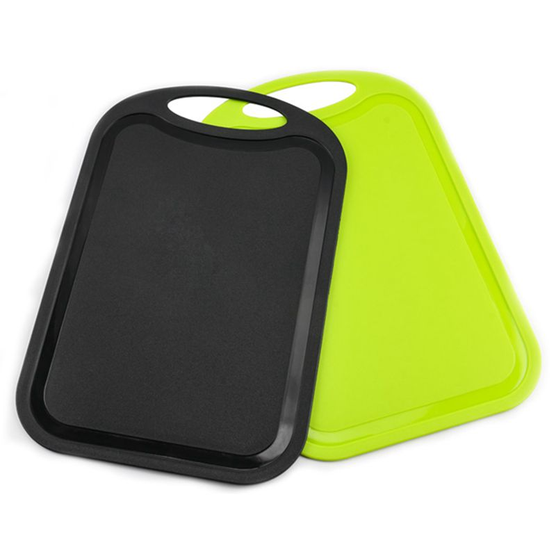 Plastic-Chopping-Block-Meat-Vegetable-Cutting-Board-Non-Slip-Anti-Overflow-Z6Q5 thumbnail 3