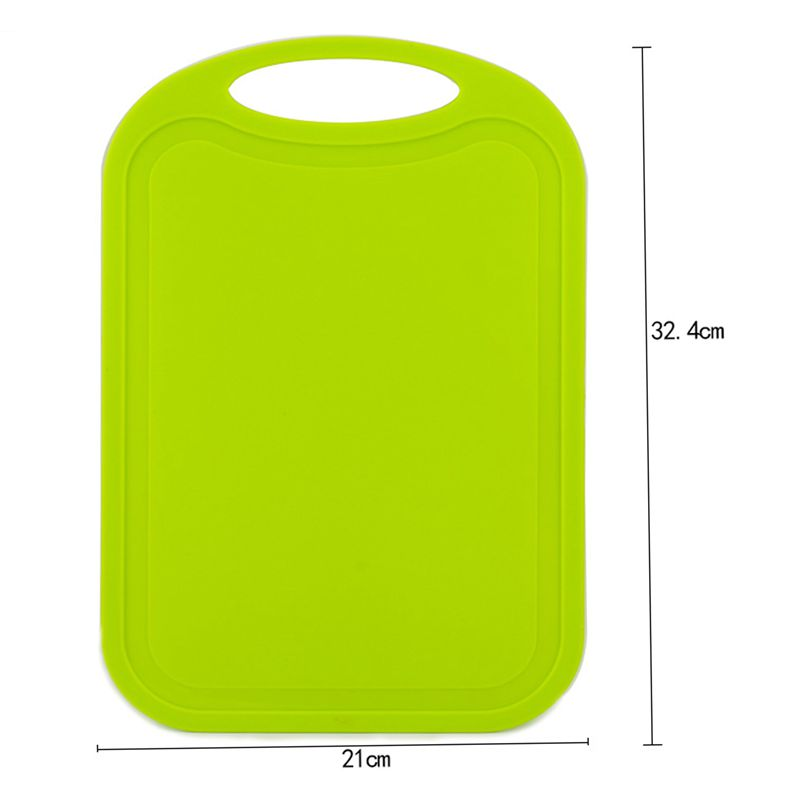 Plastic-Chopping-Block-Meat-Vegetable-Cutting-Board-Non-Slip-Anti-Overflow-Z6Q5 thumbnail 16