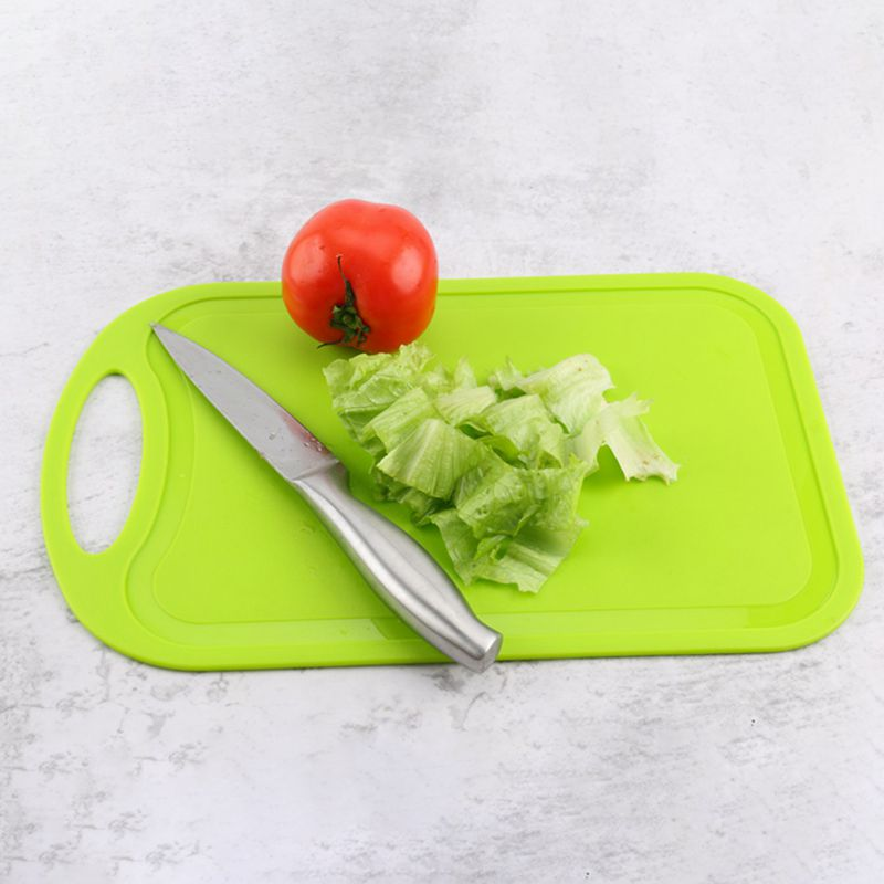 Plastic-Chopping-Block-Meat-Vegetable-Cutting-Board-Non-Slip-Anti-Overflow-Z6Q5 thumbnail 22
