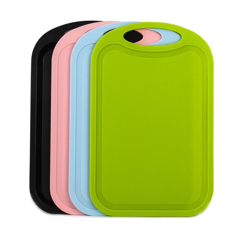 Plastic-Chopping-Block-Meat-Vegetable-Cutting-Board-Non-Slip-Anti-Overflow-Z6Q5 thumbnail 24