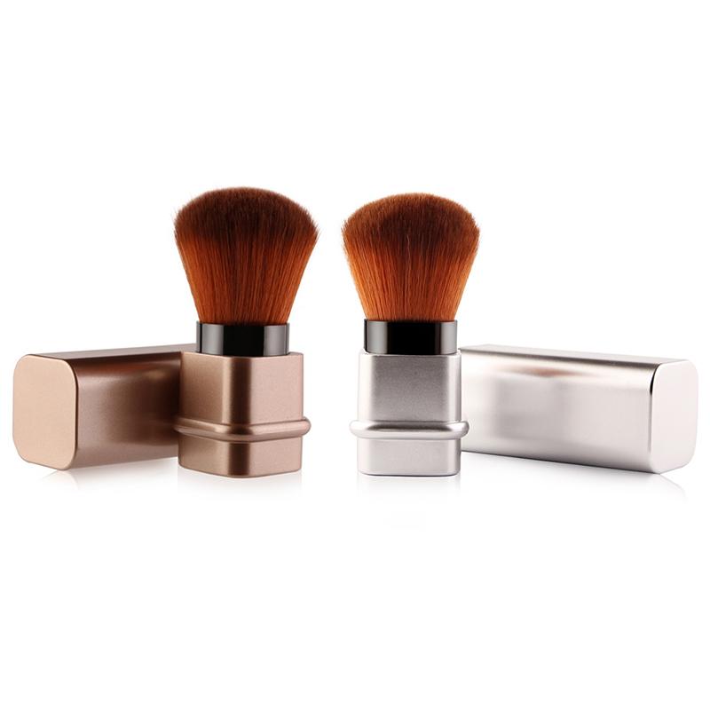 Maange Makeup Brush Mini Square Retractable Soft Face Clip ...