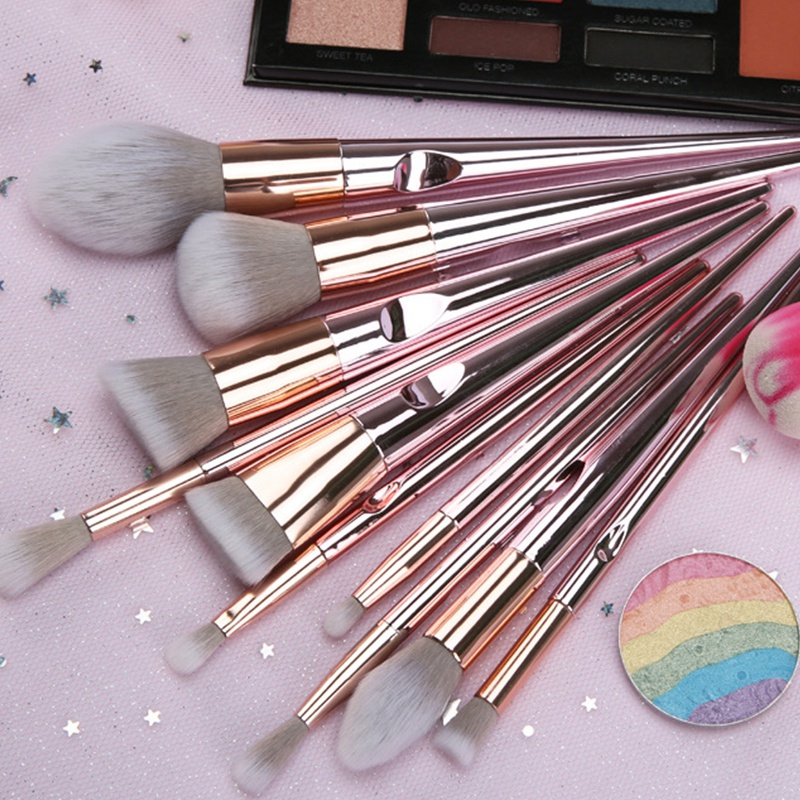 10X-Makeup-Brushes-Wet-And-Dry-Makeup-Tools-Blush-Foundation-Eye-Shadow-Hig-E1X5 miniatuur 8