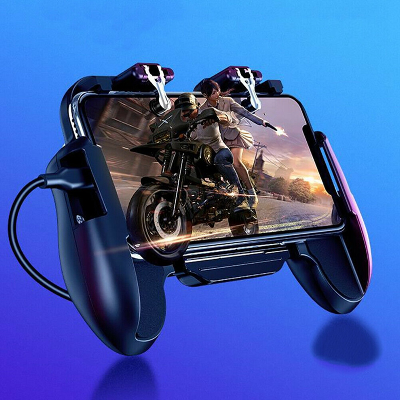 Details about Phone Game H5 Cooler Cooling Fan Gamepad Controller Fire Hand  Grip For Pubg K2G3
