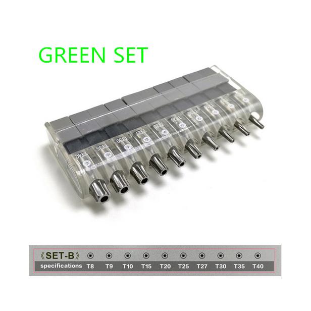Screwdriver-Multi-Tool-12-In-1-Ratchetset-Ratchet-Handle-10Pcs-Torx-Bit-Set-C7Q6 thumbnail 23