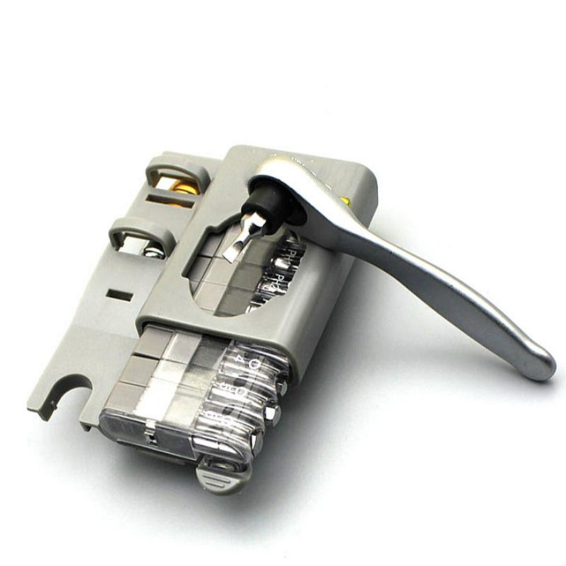 Screwdriver-Multi-Tool-12-In-1-Ratchetset-Ratchet-Handle-10Pcs-Torx-Bit-Set-C7Q6 thumbnail 27