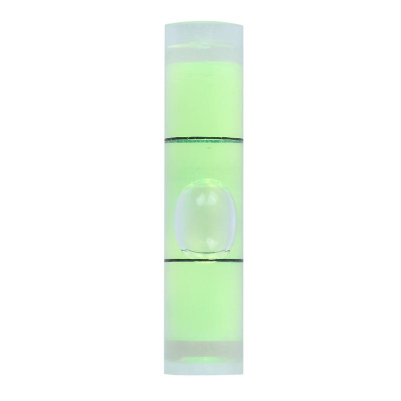 """D L 10 PCs D 8mm L 35mm Acrylic Bubble Spirit Level Vial 5//16/"""" x 1 3//8/"""""""