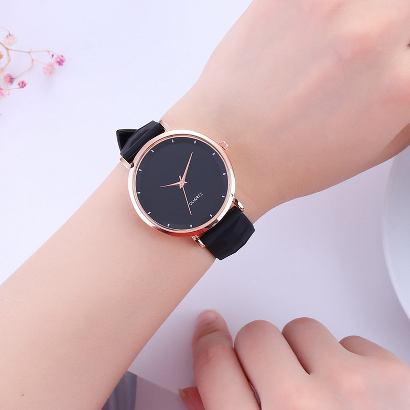 Mode-Gelee-Silikon-Frauen-Uhren-Laessig-Damen-Quarz-Uhr-Armband-Uhren-Uhr-L6X-1M7 Indexbild 4