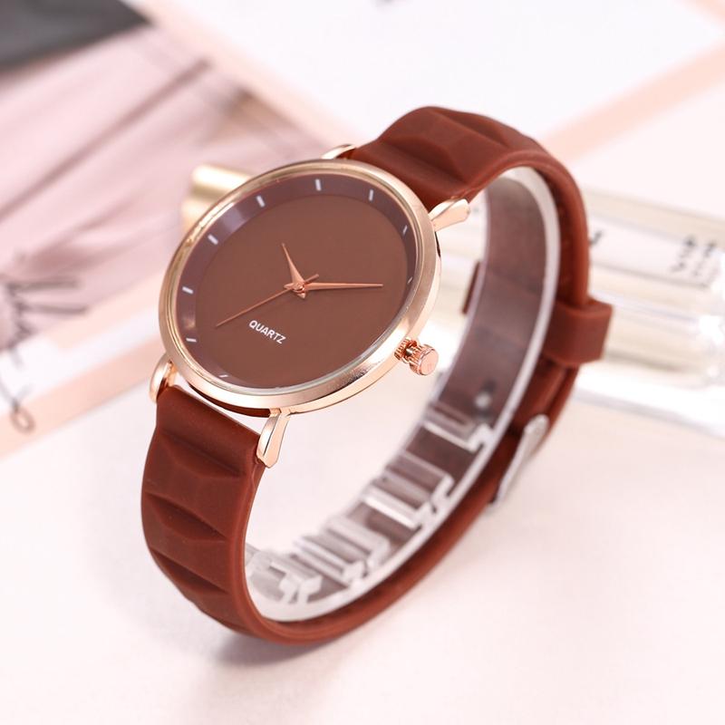 Mode-Gelee-Silikon-Frauen-Uhren-Laessig-Damen-Quarz-Uhr-Armband-Uhren-Uhr-L6X-1M7 Indexbild 14
