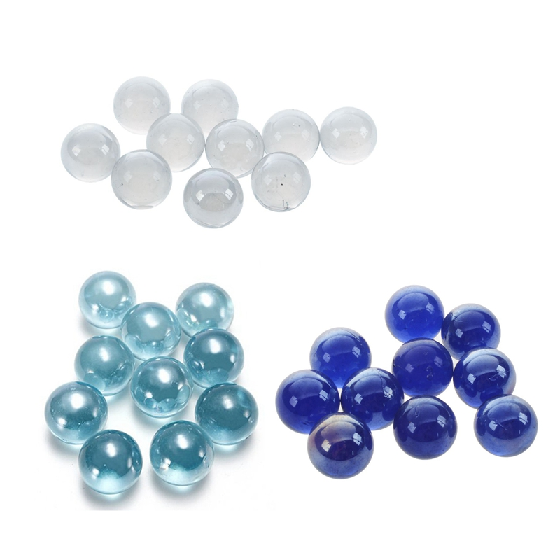 10 Pcs Marbles 16mm Glass Marbles Knicker Glass Balls Decoration