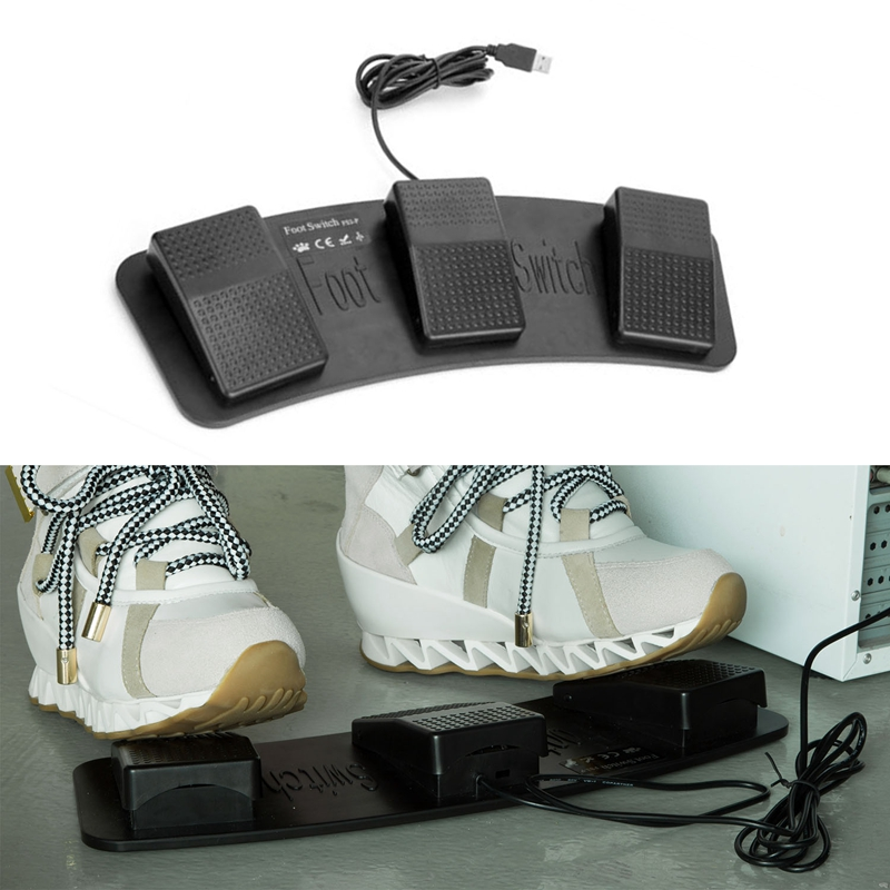 Fs3-P-Usb-Triple-Foot-Switch-Pedal-Control-Keyboard-Mouse-3-Pedals-Simulate-H7V3 thumbnail 6