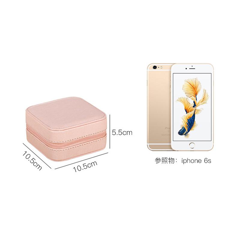 Portable-Jewelry-Case-Packing-Jewelry-Box-Makeup-Organizer-Cosmetic-Box-J8X6 thumbnail 5