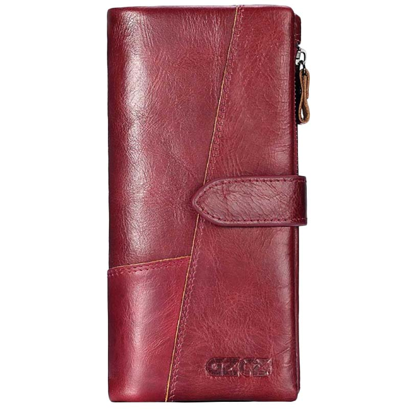 Gzcz-Women-Wallet-Genuine-Leather-Female-Long-Clutch-Lady-Money-Bag-Magic-Z-T8S1 thumbnail 3
