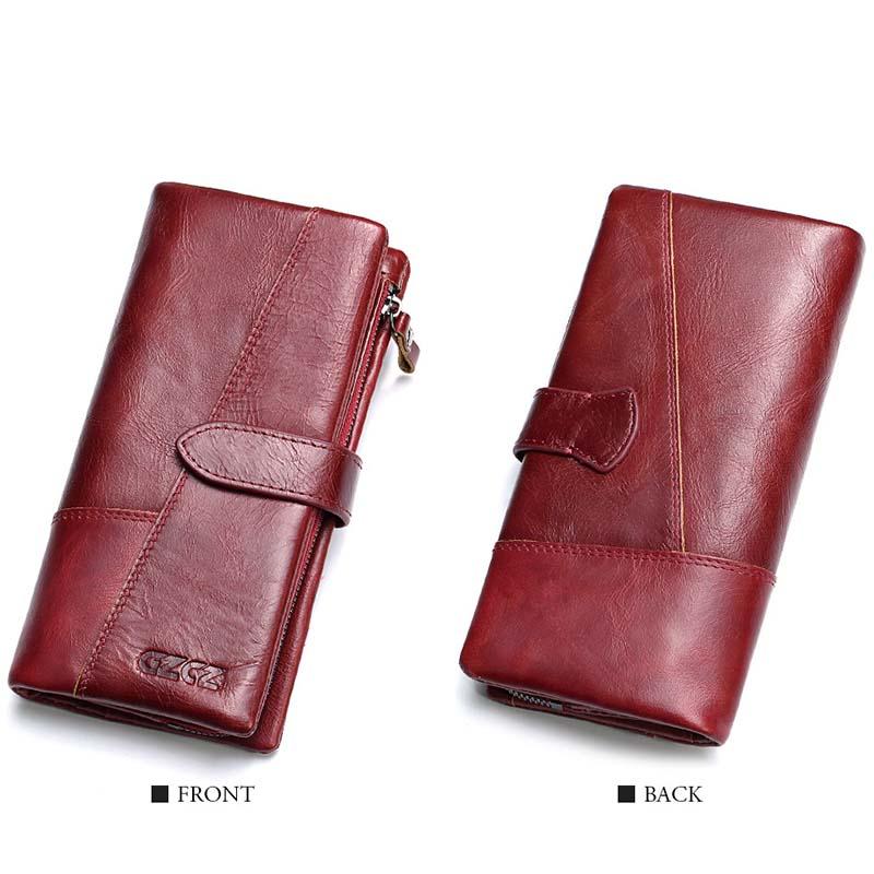 Gzcz-Women-Wallet-Genuine-Leather-Female-Long-Clutch-Lady-Money-Bag-Magic-Z-T8S1 thumbnail 5