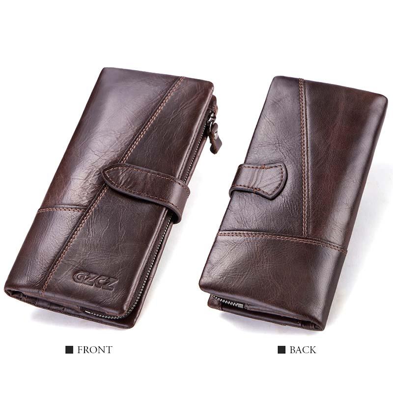 Gzcz-Women-Wallet-Genuine-Leather-Female-Long-Clutch-Lady-Money-Bag-Magic-Z-T8S1 thumbnail 14