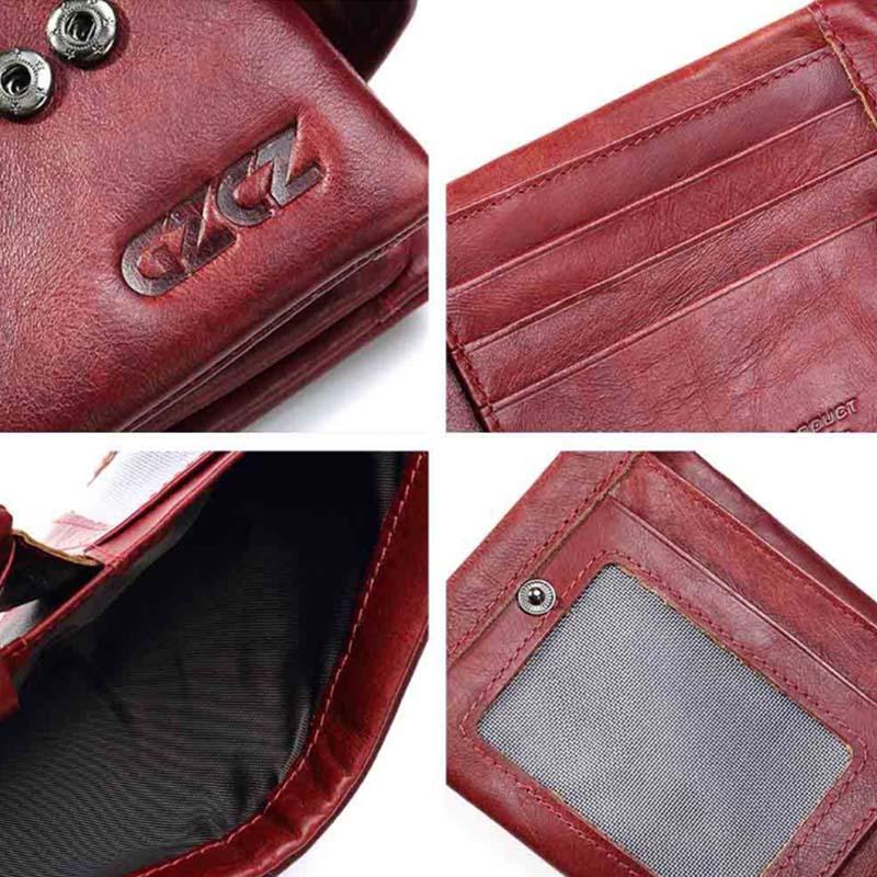 Gzcz-Women-Wallet-Genuine-Leather-Female-Long-Clutch-Lady-Money-Bag-Magic-Z-T8S1 thumbnail 17