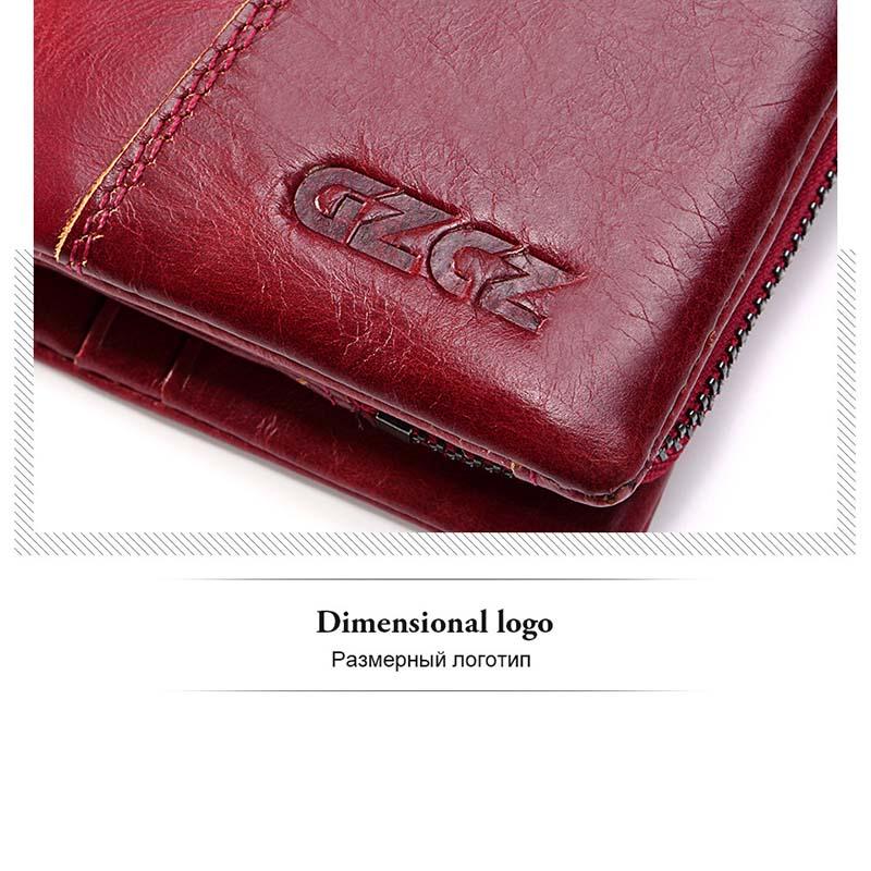 Gzcz-Women-Wallet-Genuine-Leather-Female-Long-Clutch-Lady-Money-Bag-Magic-Z-T8S1 thumbnail 19