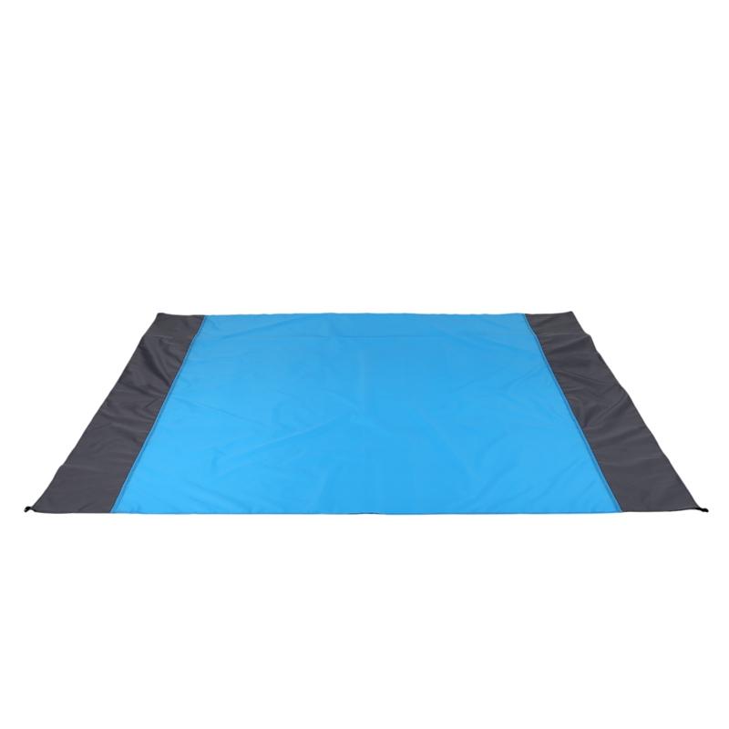 Tapis-De-Pique-Nique-Portable-Exterieur-Couverture-De-Plage-Impermeable-Mate-1G4 miniature 3