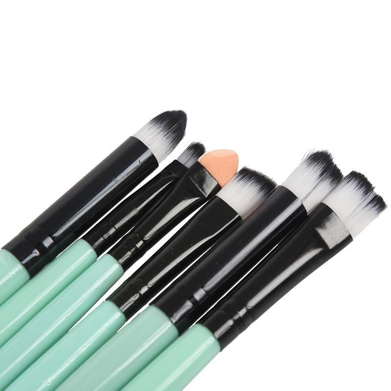 6pcs-set-Makeup-Brush-Set-Tools-Wool-Brushes-Kits-I9H9 miniatuur 16