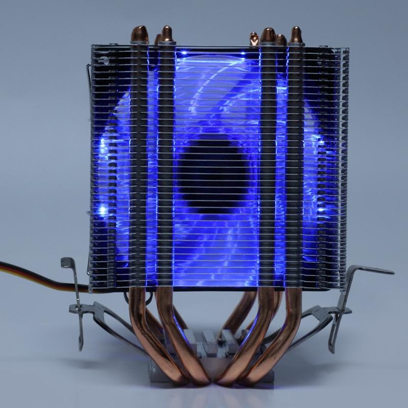Lanshuo-4-Waerme-Leitung-3-Draht-Mit-Licht-Einzelner-LUFter-Cpu-LUFter-K-Z9N2 Indexbild 19