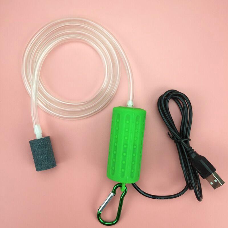 Usb-Mini-Aeration-Pump-Air-Pump-Aquarium-Aerator-Ultra-Quiet-Mini-Fish-Tank-E6I4 thumbnail 13