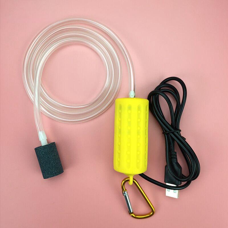 Usb-Mini-Aeration-Pump-Air-Pump-Aquarium-Aerator-Ultra-Quiet-Mini-Fish-Tank-E6I4 thumbnail 21