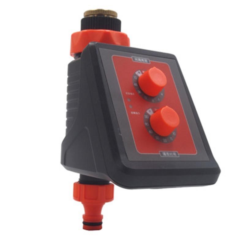 2X(Minuterie Intelligente D'Irrigation À Bouton Simple Contrôleur Puissant  6H6)