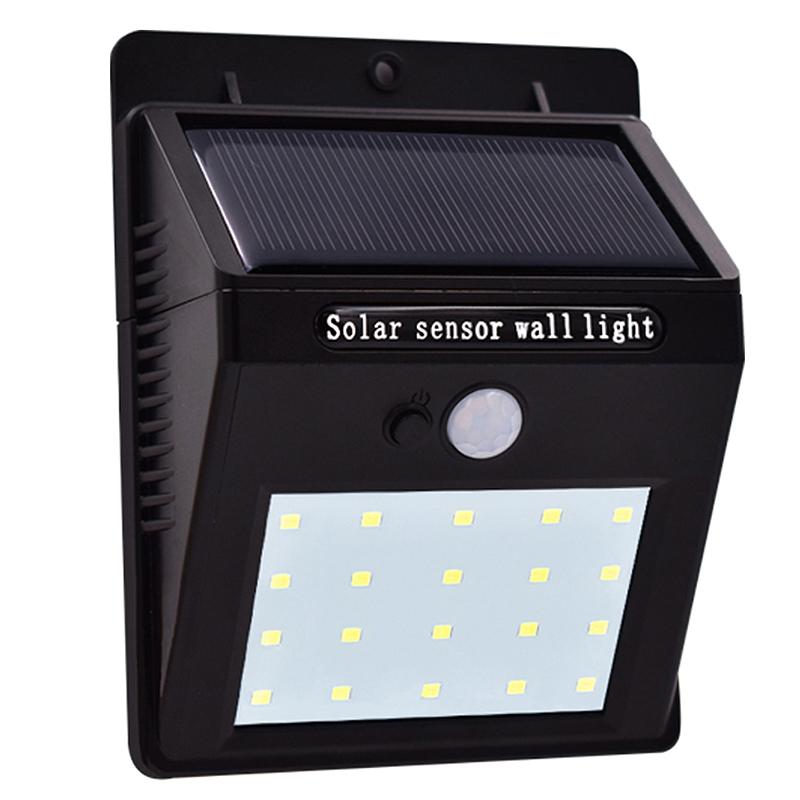 Lampe-Solaires-Capteur-De-Mouvement-Exterieur-20-Leds-Pir-Lampe-Separable-Ac-2C7 miniature 4
