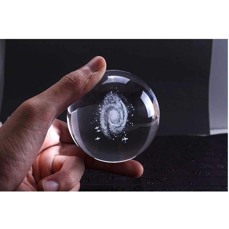 6-Cm-DiAMetro-Globo-Galaxia-Bola-De-Cristal-Miniaturas-Esfera-Bola-De-Vidri-E1L6 miniatura 8