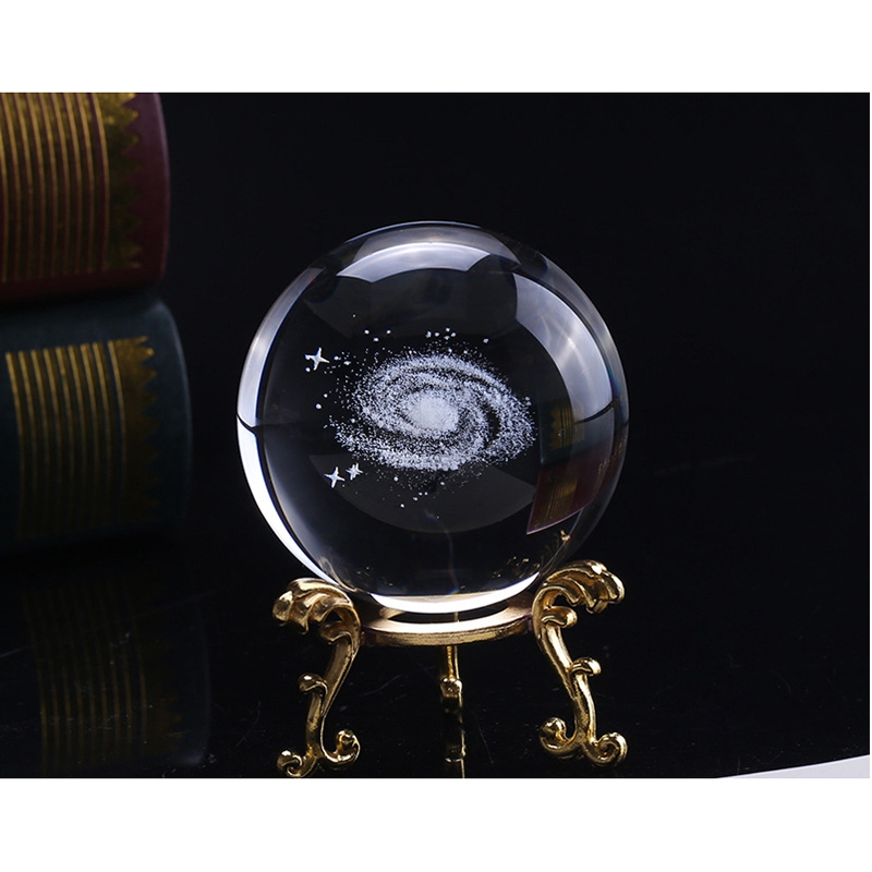 6-Cm-DiAMetro-Globo-Galaxia-Bola-De-Cristal-Miniaturas-Esfera-Bola-De-Vidri-E1L6 miniatura 10