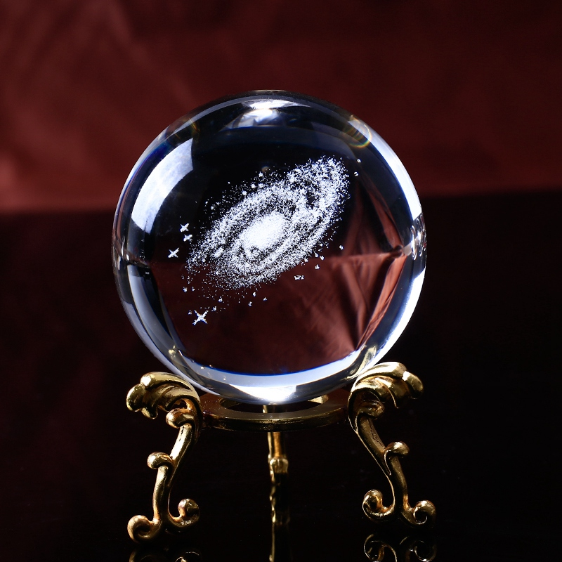 6-Cm-DiAMetro-Globo-Galaxia-Bola-De-Cristal-Miniaturas-Esfera-Bola-De-Vidri-E1L6 miniatura 11