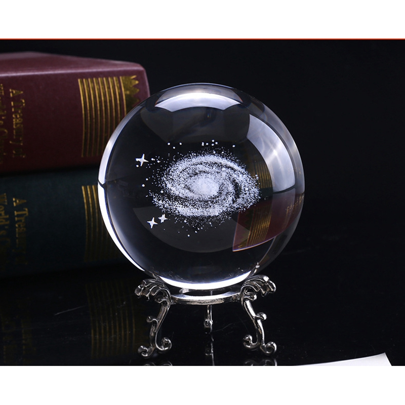 6-Cm-DiAMetro-Globo-Galaxia-Bola-De-Cristal-Miniaturas-Esfera-Bola-De-Vidri-E1L6 miniatura 16