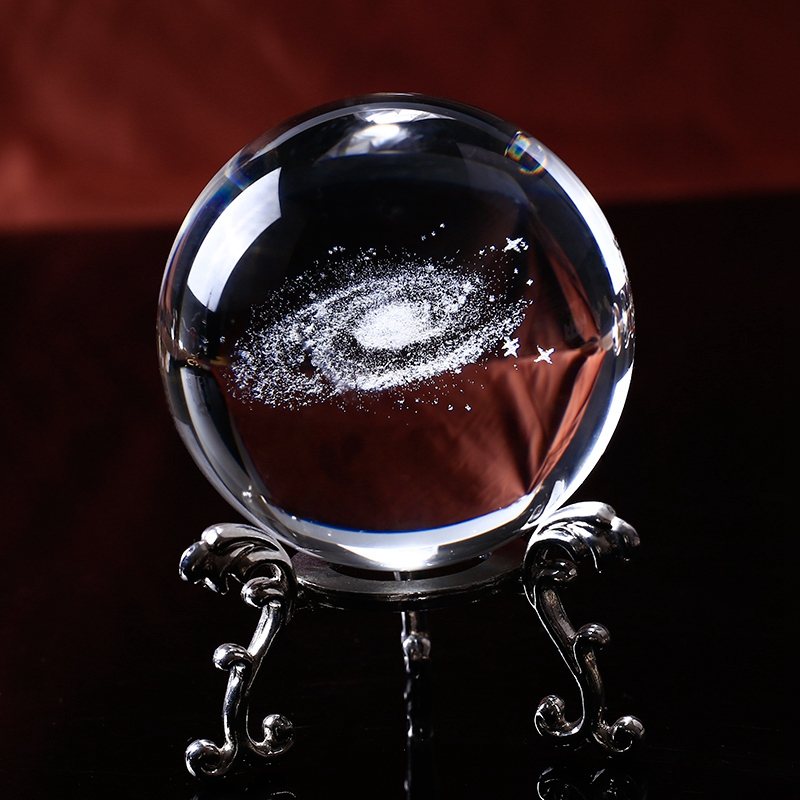 6-Cm-DiAMetro-Globo-Galaxia-Bola-De-Cristal-Miniaturas-Esfera-Bola-De-Vidri-E1L6 miniatura 20
