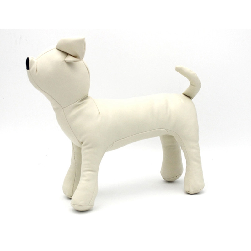 Leather-Dog-Mannequins-Standing-Position-Dog-Models-Toys-Pet-Animal-Shop-Di-H1H9 thumbnail 4