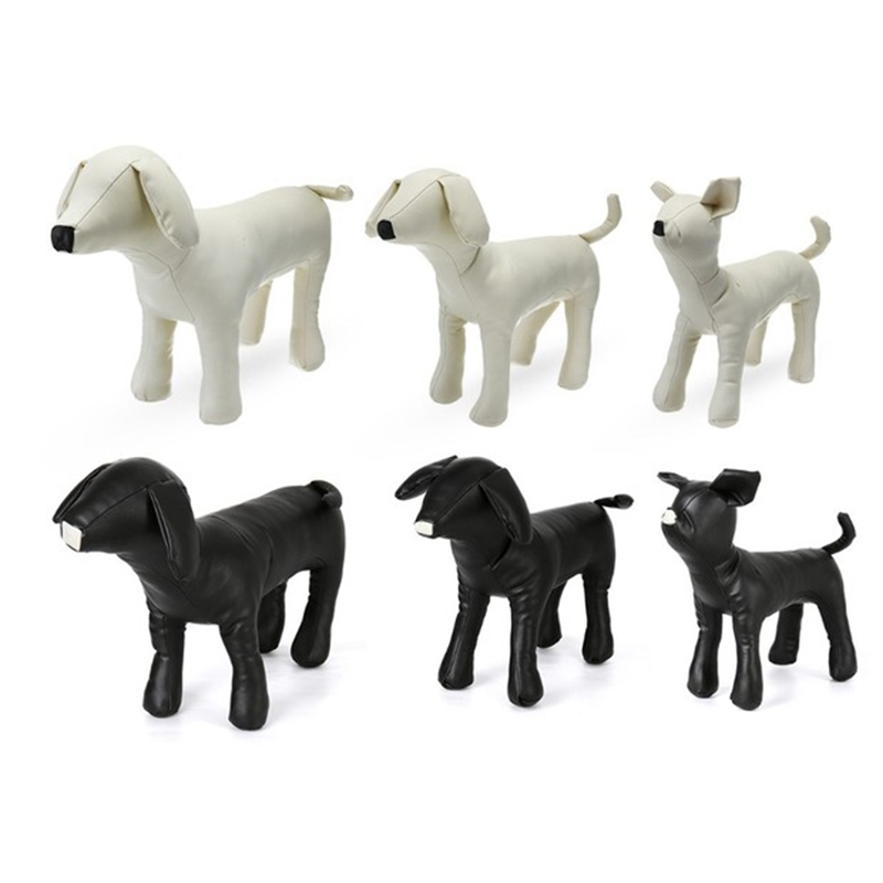 Leather-Dog-Mannequins-Standing-Position-Dog-Models-Toys-Pet-Animal-Shop-Di-H1H9 thumbnail 20