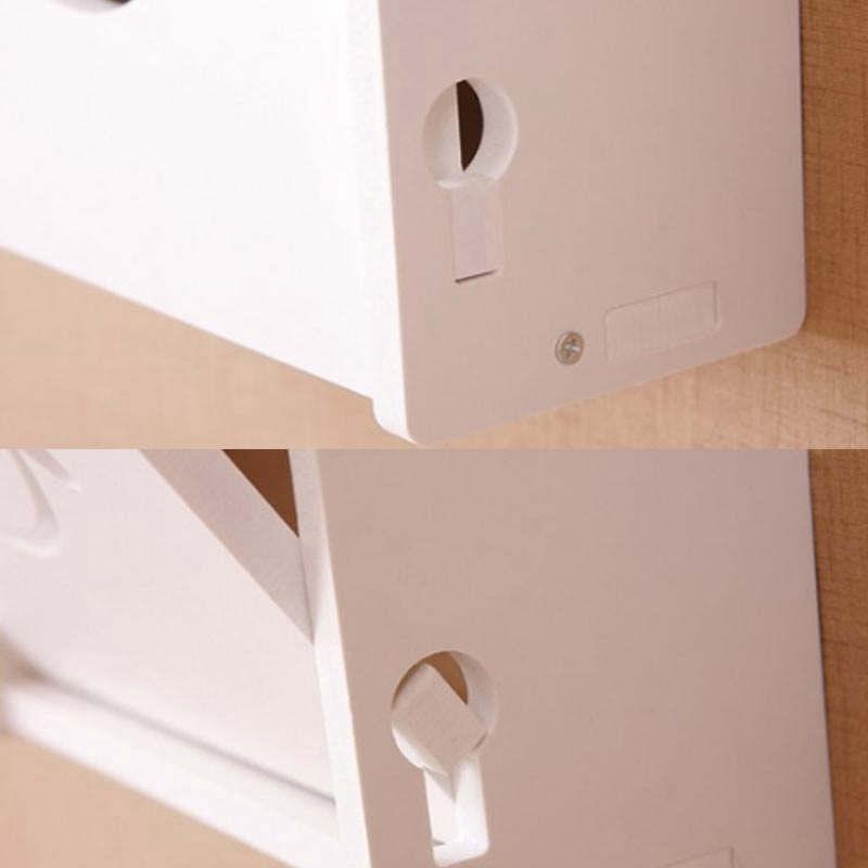 Drahtlos-Wifi-Router-Aufbewahrungs-Box-Holz-Kunststoff-Regal-Wand-Behaenge-H-A1A7 Indexbild 6