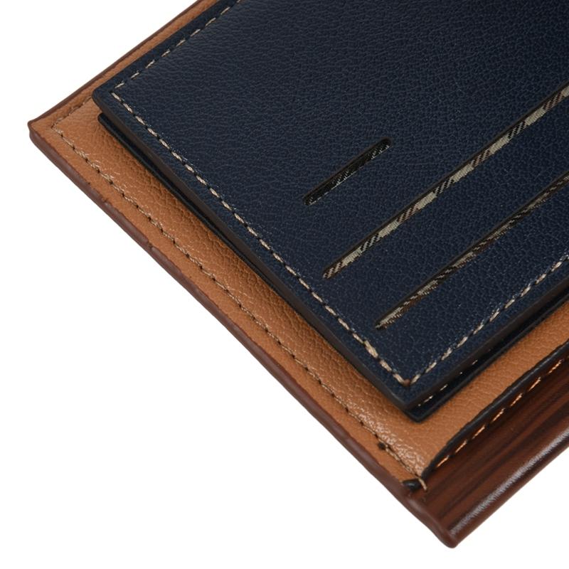 baellerry-Men-Wallet-Leather-Vintage-Purses-High-Quality-Money-Bag-Credit-C-X2C2 thumbnail 16