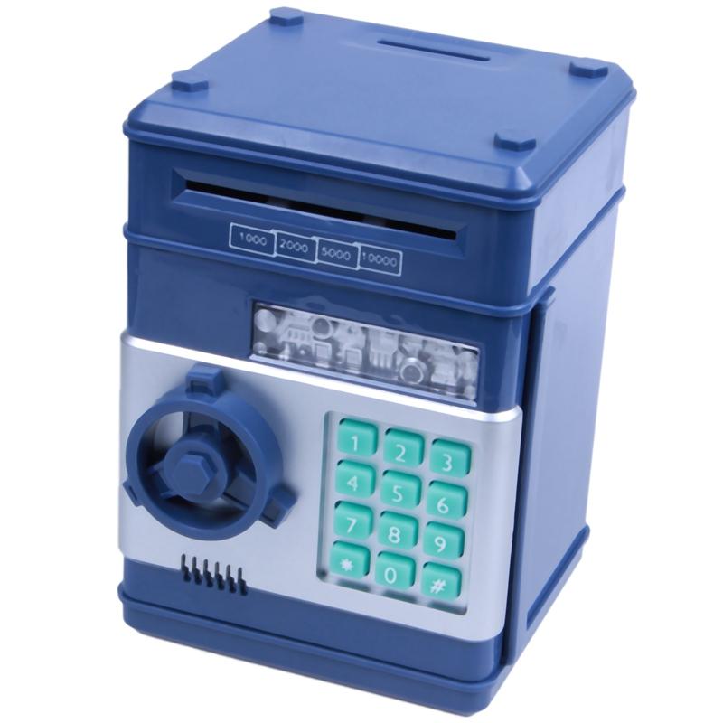 Hucha-Electronica-Contrasena-Caja-De-Dinero-Caja-De-Ahorro-De-Monedas-De-Ef-S1M6 miniatura 4