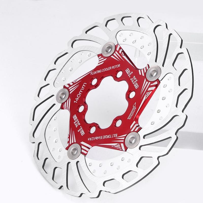 Mi-Xim-Rotor-De-Frein-De-Refroidissement-De-VELo-Disque-De-Refroidissement-D-4D9 miniature 5