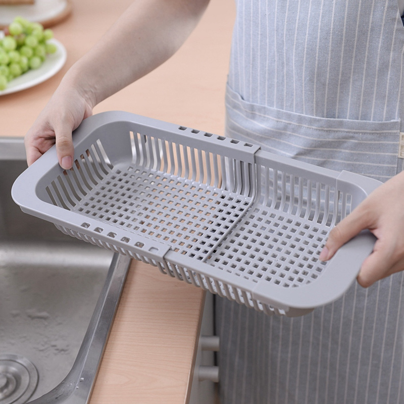 Multifunctional-Thickened-Kitchen-Retractable-Sink-Drain-Rack-Vegetable-FruF1P5 thumbnail 6