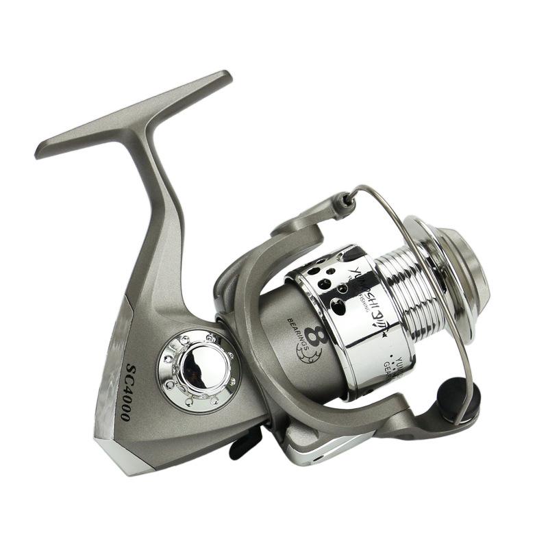 Yumoshi-Fishing-Reels-Spinning-Reel-5-5-1-Feeder-Carp-Equipment-Reel-Fishin-U8P8 thumbnail 6